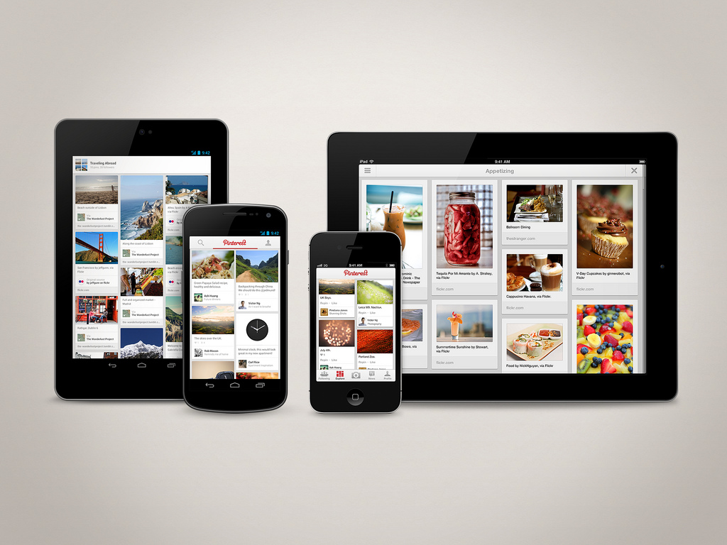 Pinterest per dispositivi mobili: un'opportunità per mobile marketing?