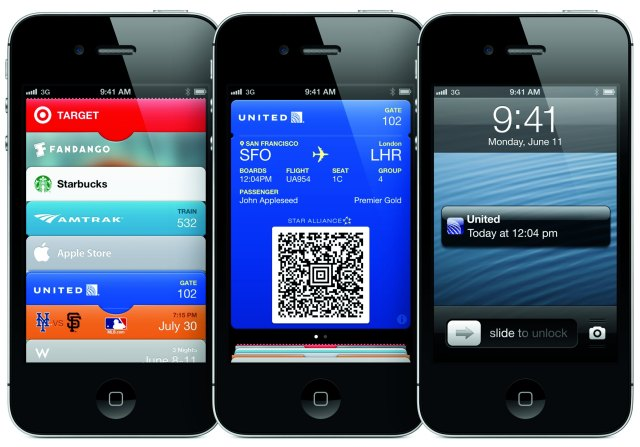 Apple Passbook: raccoglitore elettronico tessere fedeltà